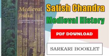 Satish Chandra Medieval History PDF in Hindi